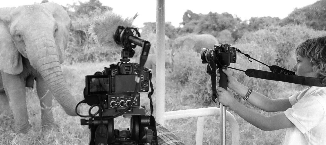Conservation photographer Lysander Christo